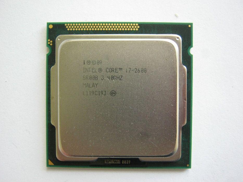 Процессор Intel Core i7-2600 3.4-3.8GHz 4 ядра/8 потоков, s1155 Мелитополь - изображение 1