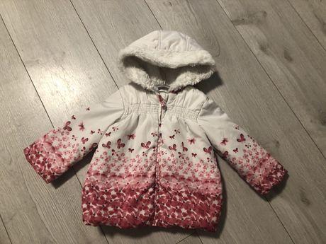 Демисезонная куртка george 9-12 месяцев, осень-весна, курточка