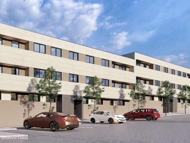 Apartamento T3 Novo com varanda e garagem para 2 viaturas...