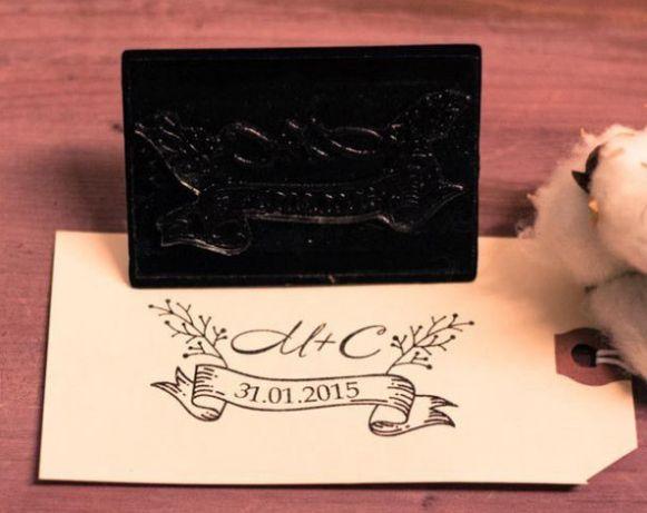 Штампы для пригласительных на свадьбу и штампы на конверты для свадьбы