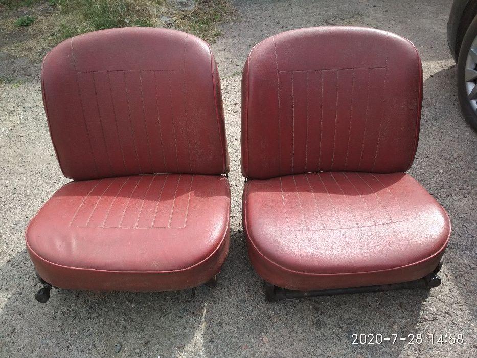 Сидіння передні ЗАЗ 968 (ДОБРИЙ СТАН) Черкаси - зображення 1