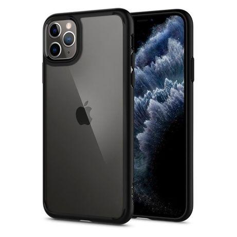 Etui Spigen Ultra Hybrid Apple Iphone 11 Pro Matte Black Czarne Case