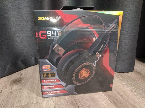 Игровые наушники Somic G941 с шумодавом