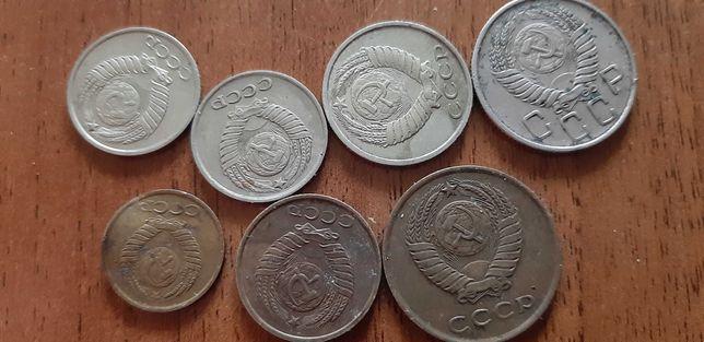 Монеты 2, 25.украина ссср 3, 5 копеек