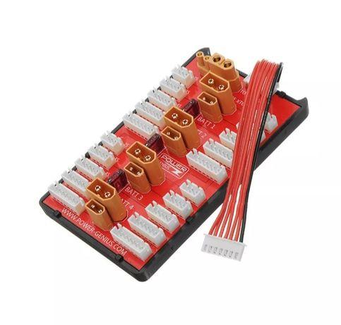 Плата параллельного заряда / Зарядное устройство для квадрокоптера