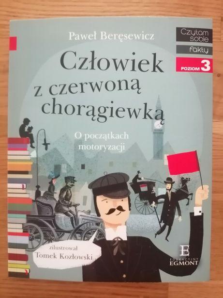 P. Beręsewicz człowiek z czerwoną chorągiewką o początkach motoryzacji