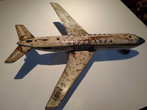 Aviāo de Lata Lufthansa