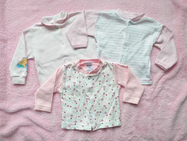 Kaftaniki niemowlęce 3 sztuki