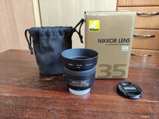 Об'єктив Nikon AF-S DX NIKKOR 35mm f/1.8G