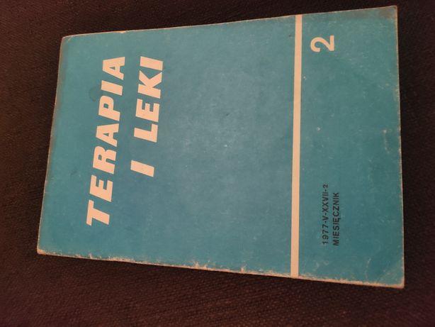 """""""Terapia i leki"""" miesięcznik medyczny z lutego 1977 r.!!Prawdziwy okaz"""