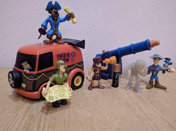 Коллекционный набор пиратов Скубби Ду, Оригинал Hanna-Barbera.