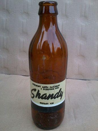Butelka 0,33l PRL Napój Shandy dla kolekcjonerów po wodzie napojach