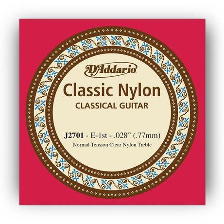 Pojedyncze struny do gitary klasycznej D'Addario