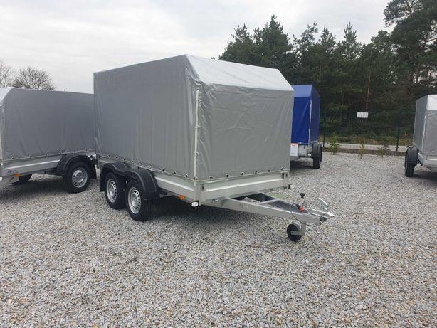 Przyczepa Samochodowa SIDECAR 300x156 750 kg S-Line ALU