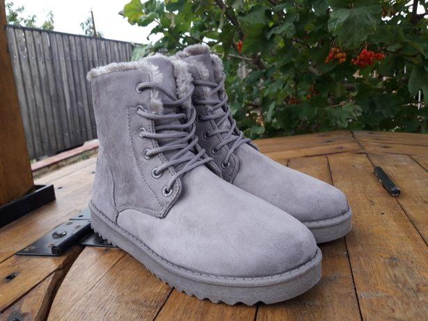 Ботинки Угги зима осень как Martens Salomon