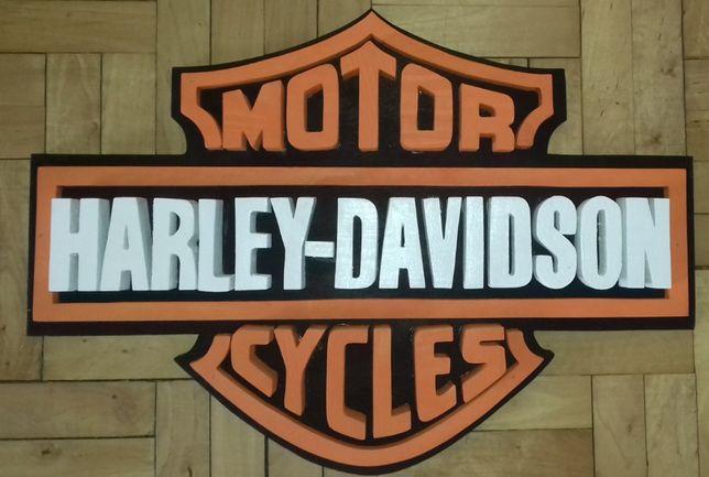 Szyld Harley Davidson