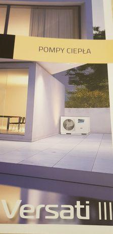 Pompy ciepła Panasonic Aquarea 3-16kW, LG Therma, Sevra, Gree Versati