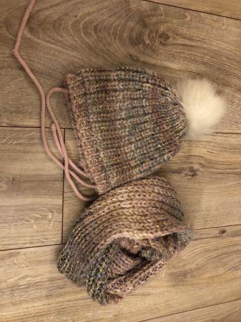 Komplet czapka + komin Reserved