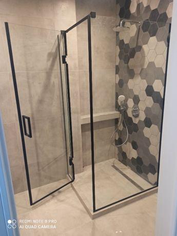 душова кабіна, перегородка в душ