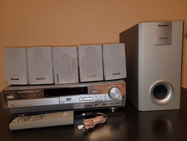 Amplituner z 5xDVD kina domowego 5.1 Panasonic SA-HT75
