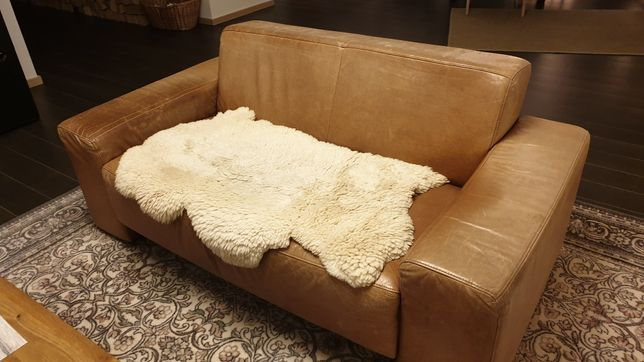 Sofa skórzana,  2 osobowa