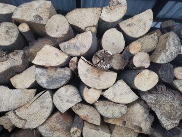 Drewno kominkowe opałowe buk świerk