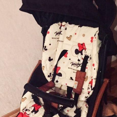 Универсальный матрасик в коляску, стульчик для кормления