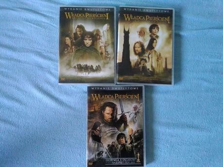 Kultowa seria Władcy Pierścieni na DVD