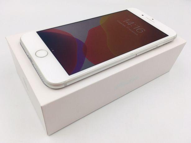 iPhone 8 PLUS 64GB SILVER • NOWA bateria • GW 1 MSC • AppleCentrum