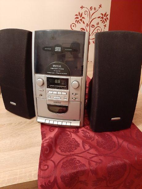 Sprzedam odtwarzacz płyt CD i kaset magnetofonowych +radio