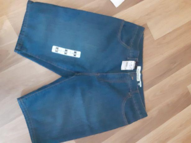 Spodenki męskie jeans