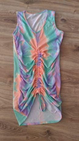 Nowa sukienka cieniowana na lato XS lub S, małe M