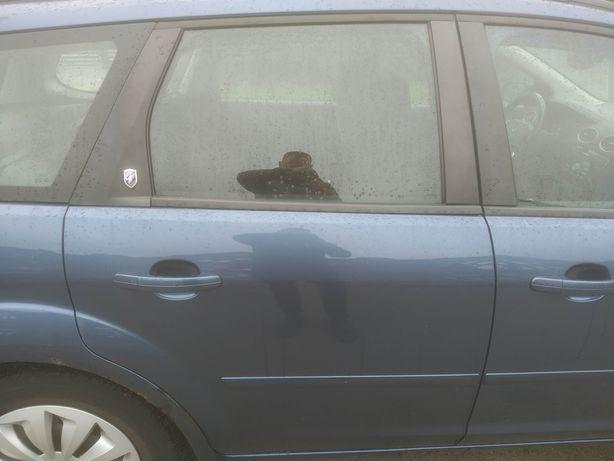Ford Focus MK2 kombi - Drzwi tył tylne prawe kpl. lak 23