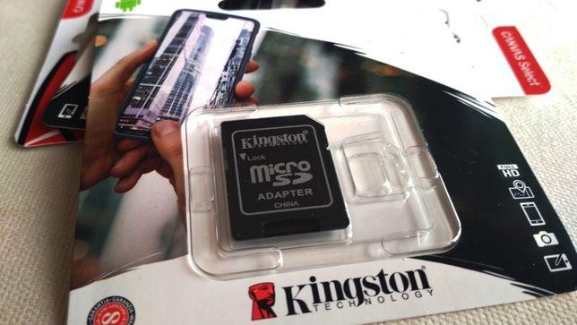 NOVO - Raspberry Pi - Adaptador de Cartões MicroSD - (Kingston)