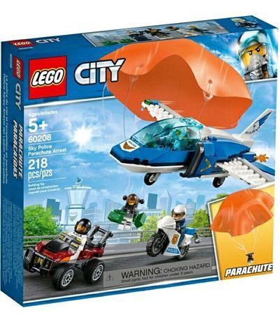 LEGO CITY 60208 Aresztowanie Spadochroniarza NOWE szybka WYSYŁKA