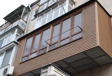 Ремонт балконов [расширение, утепление, обшивка, остекление] под ключ!
