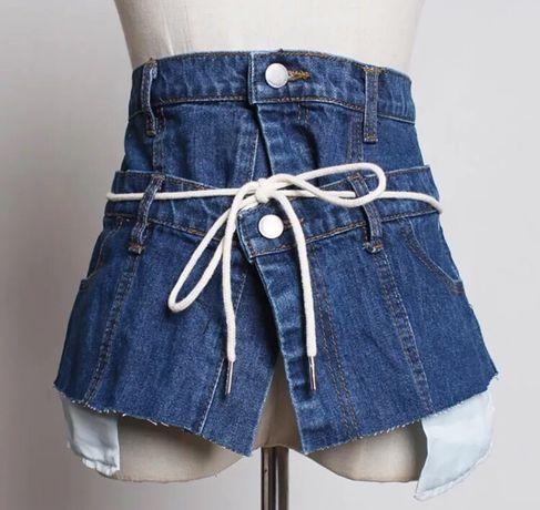 Баска пояс джинсовая