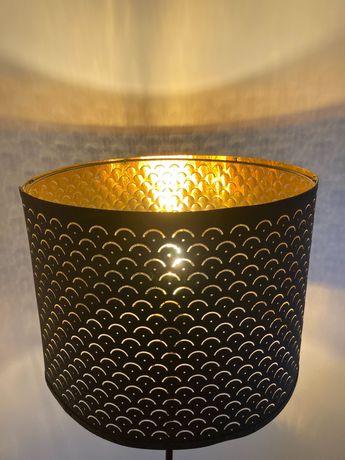 Lampa czarno złota  Ikea