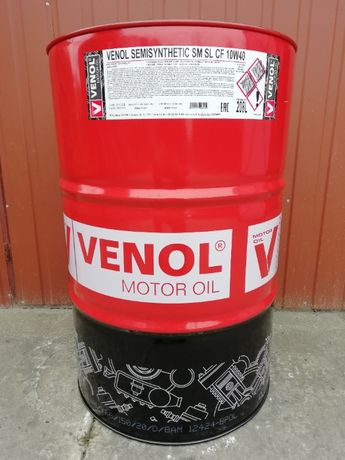 Olej Silnikowy Niemieckiej marki VENOL SEMISYNTHETIC SM SL CF 10W40