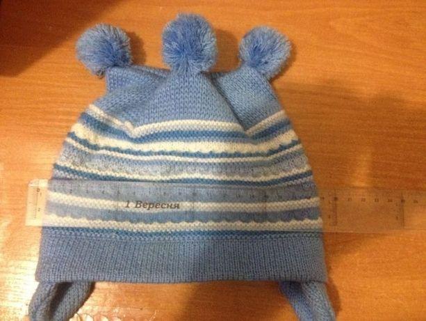зимова шапочка від 6міс до 1,5року