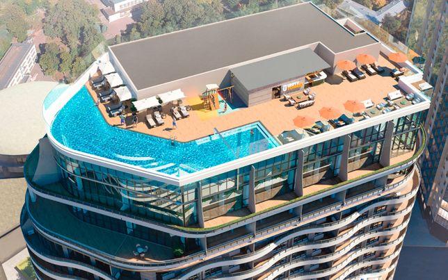 2 комнатная квартира 43.41 м² (890 $) в рассрочку