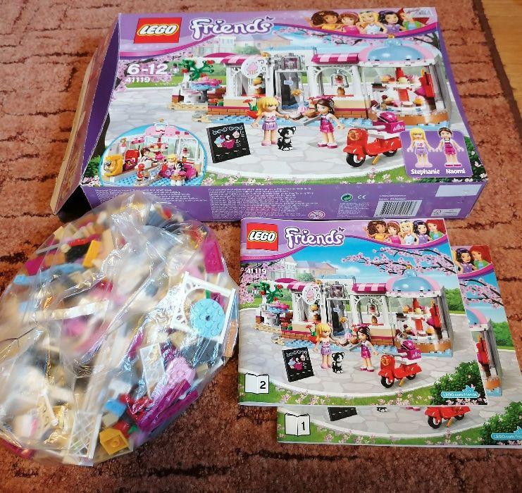 Lego friends kawiarnia cukiernia w Heartlak 41119 Grodków - image 1