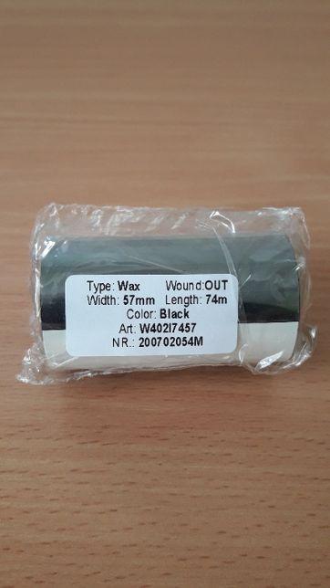 Риббон Wax 57mm x 74м