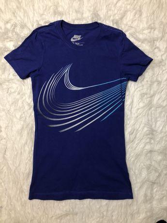 Koszulka damska Nike rozmiar XS granatowa