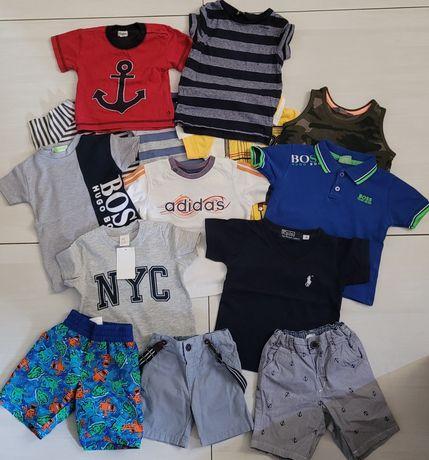 Koszulka spodenki Zestaw markowych ubranek dla chłopczyka