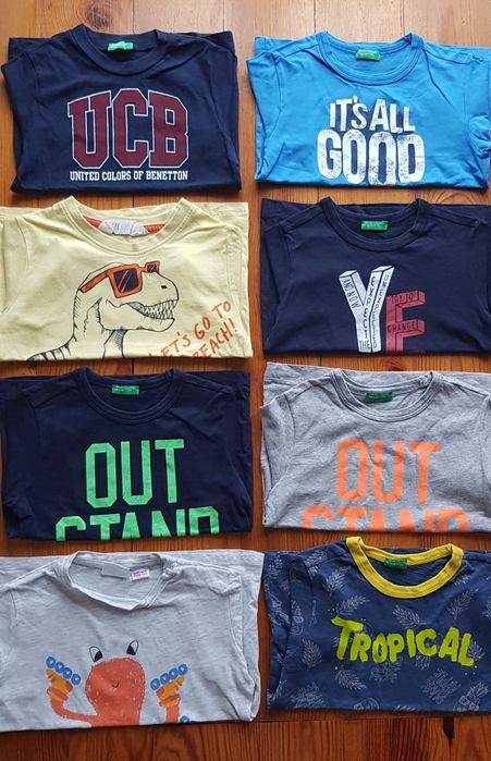 T-shirty Benetton, H&M, Zara Gdynia - image 1