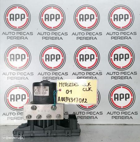 Módulo Bomba ABS Mercedes SLK, CLK  de 2001 referência A0034317012.