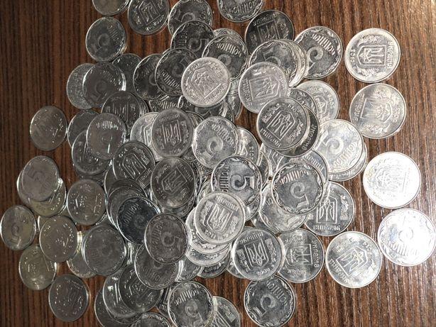 Украинские монеты (5 коп)