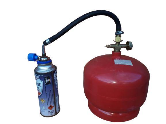 Переходник для Заправки адаптер для Баллонов 220 грам газовый переходн