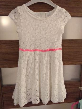 Sukienka koronkowa roz. 110 Cool Club